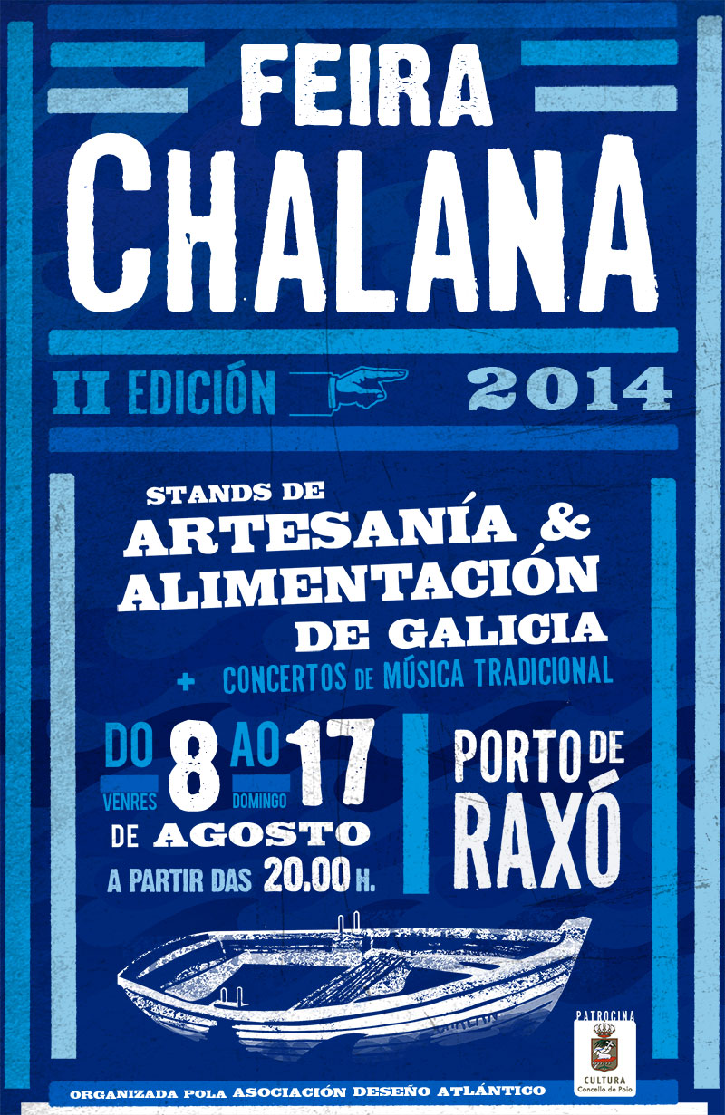 Feira Chalana en Raxó do 8 ao 18 de Agosto