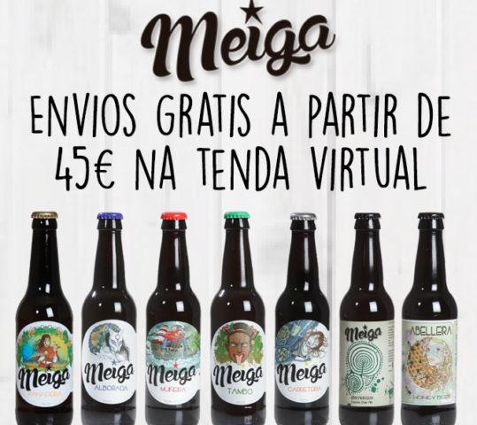 ENVÍOS GRATIS NA TENDA VIRTUAL A PARTIR DE 45€